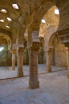 素晴らしいアラビア風呂、ロンダ、マラガ、スペイン