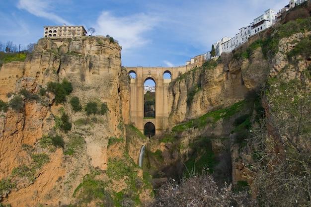 Новый мост ронда, малага, испания