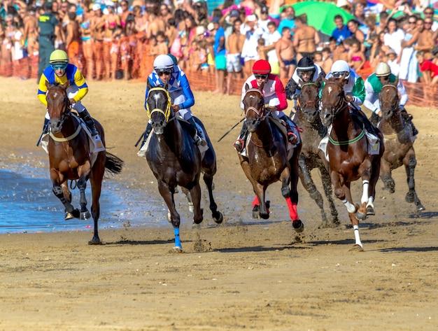 スペイン、バラメダのサンルカルの競馬
