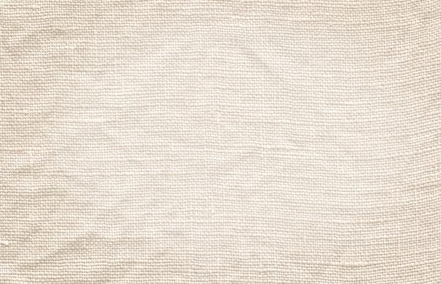 白いキャンバスの質感。ナチュラルホワイトリネンの背景
