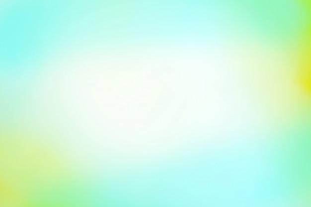 緑の背景のボケ味。抽象的な緑の背景をデフォーカス。