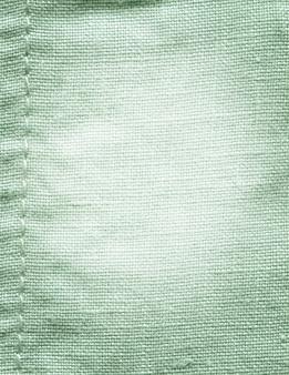 ターコイズ色の綿生地の背景