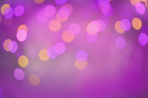 紫色のキラキラクリスマスの質感。