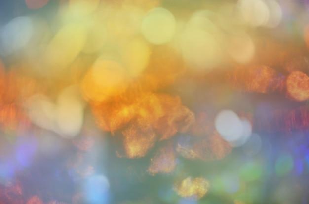 Абстрактное боке. расфокусированные боке огни