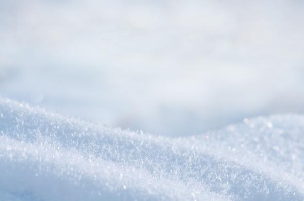 Снежный зимний фон