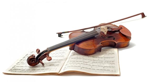 ヴァイオリンと楽譜