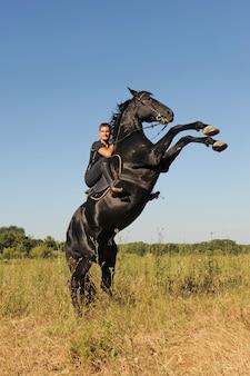 Воспитание лошади