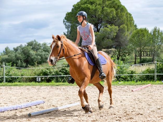 Езда с лошадью