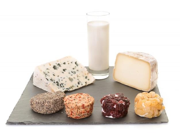 スタジオでのチーズ