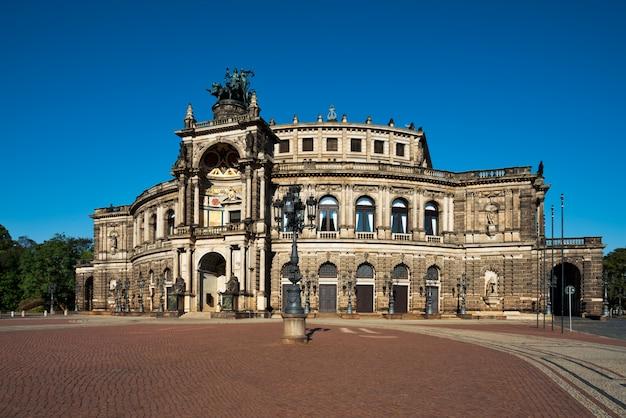 ドレスデンのオペラハウス