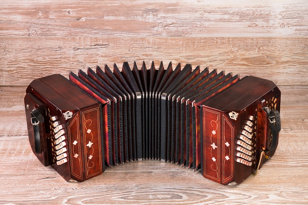 Бандонеон, инструмент танго