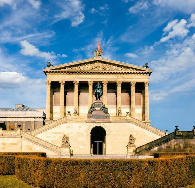 Старая национальная галерея в берлине