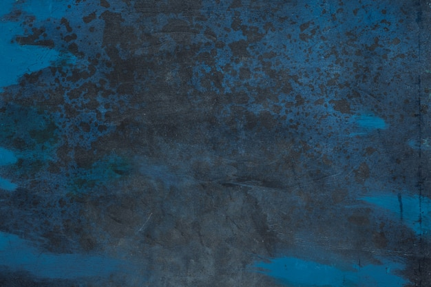 Черное и синее темное пространство. высокое разрешение изображения с копией