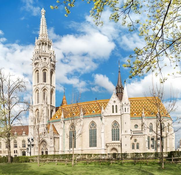 ブダペスト、ハンガリーのマーチャーシュ教会