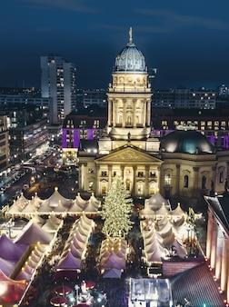ベルリンのクリスマス・マケ・ジャンダルメンマルクト
