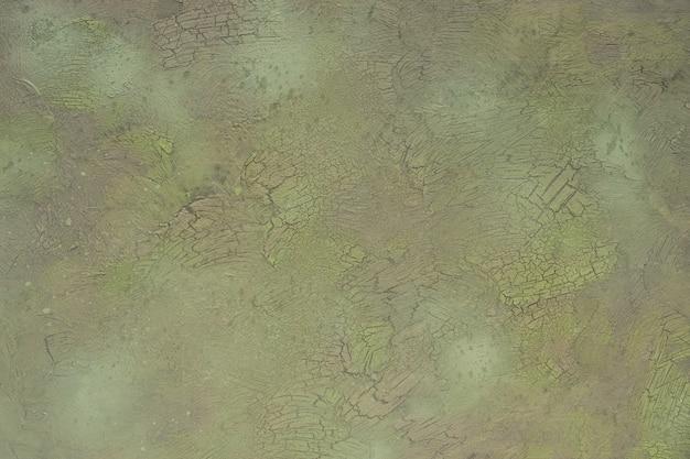 パチパチと緑と灰色のテクスチャ背景。コピースペース付きの高解像度画像