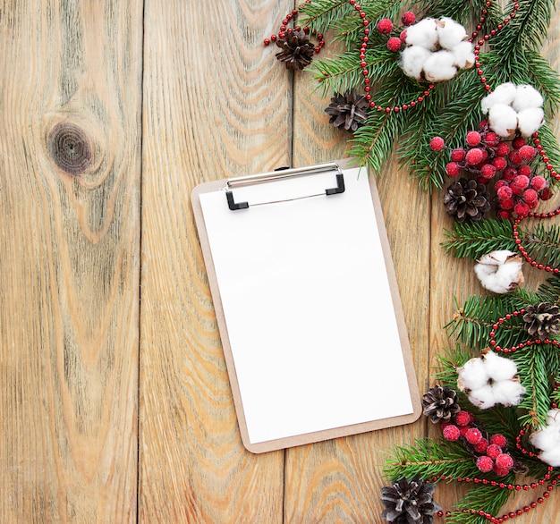 クリスマス休暇の背景
