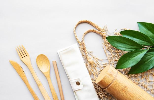 木製食器、ゼロ廃棄物の概念