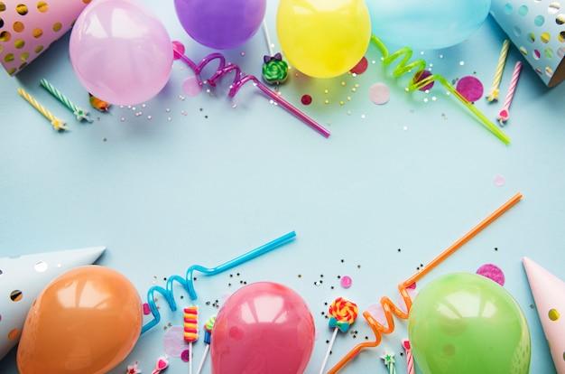 お誕生日おめでとうまたはパーティーの背景