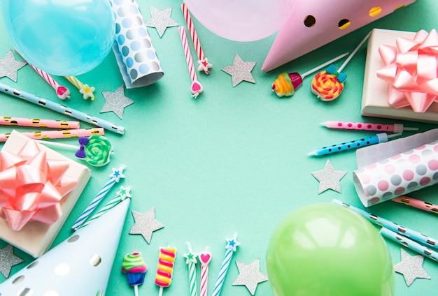 Сервировка дня рождения