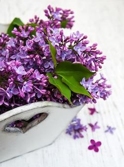 ライラックの花