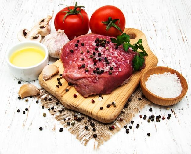 牛肉の切り身