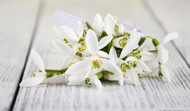 スノードロップの花束