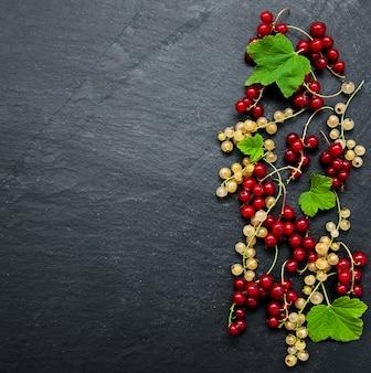 赤スグリの葉