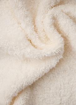 Банное пушистое полотенце