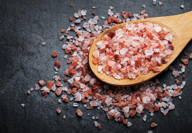 ヒマラヤ産のピンク塩