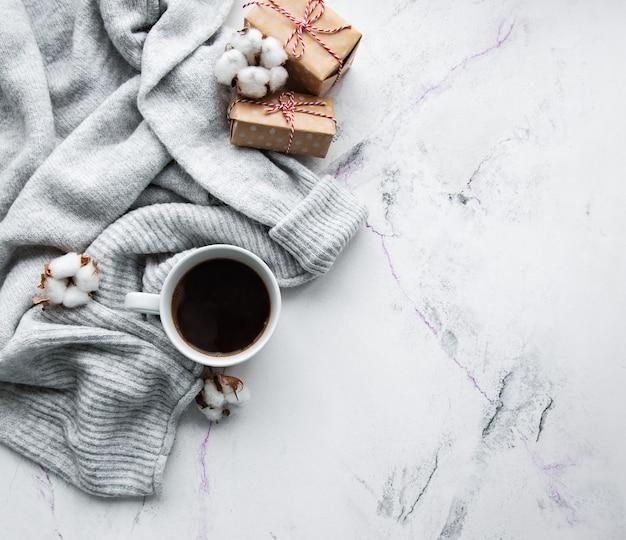 Уютная зимняя концепция