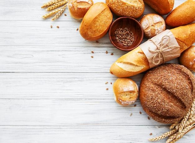 Ассорти из хлеба