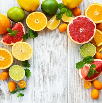 Цитрусовые свежие фрукты