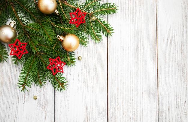 クリスマスのモミの木の装飾
