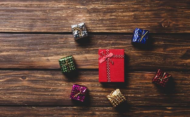小さな贈り物と大きな贈り物
