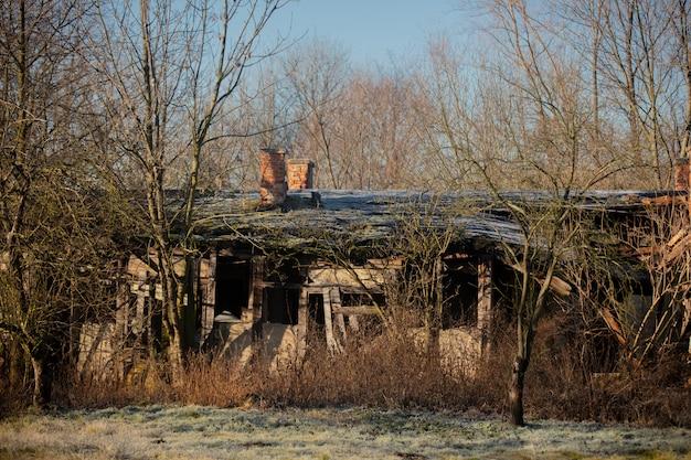 ドイツの旧領、現在はポーランドにある廃屋