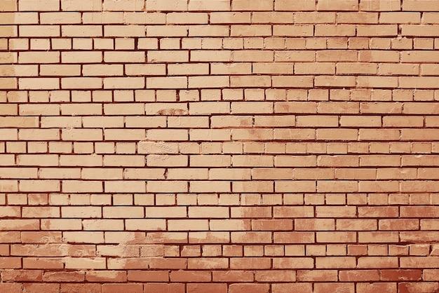 古い赤レンガの壁の背景テクスチャ