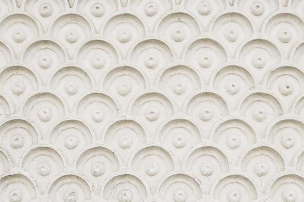 パターン背景テクスチャと古い白い壁