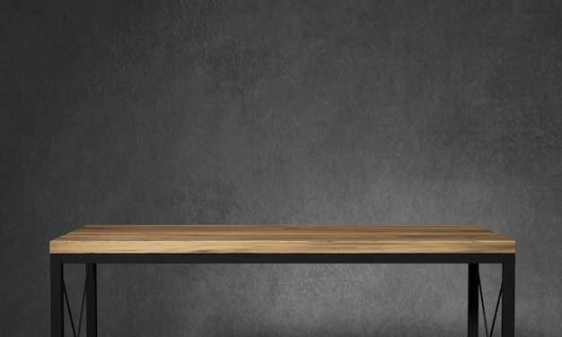 Стол для лофтовых декораций