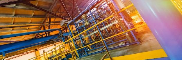 製造時のガラス繊維製造業設備