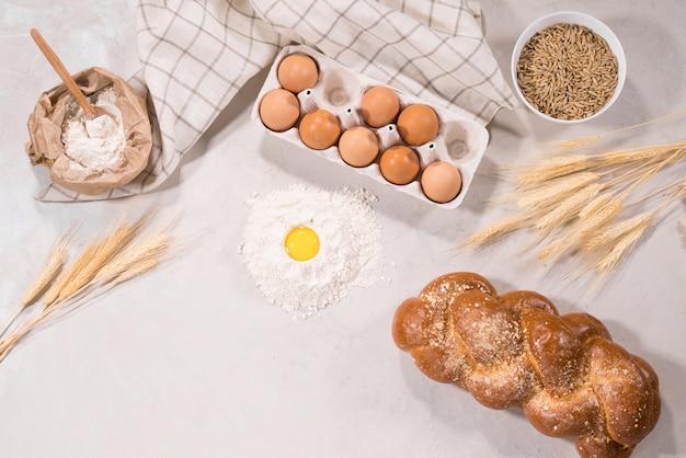 Натуральные ингредиенты для выпечки