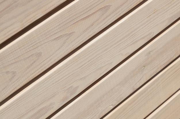 斜めライト木製木製ストライプパターンの正面図