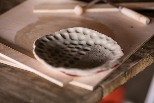 粘土ビレットプレート