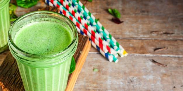 Зеленый коктейль коктейль антиоксидант