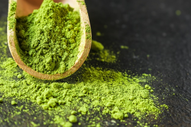 抹茶-緑茶粉末、栄養補助食品