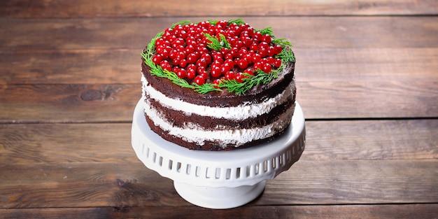 クリスマスケーキ新年デザートチョコレートベーキング