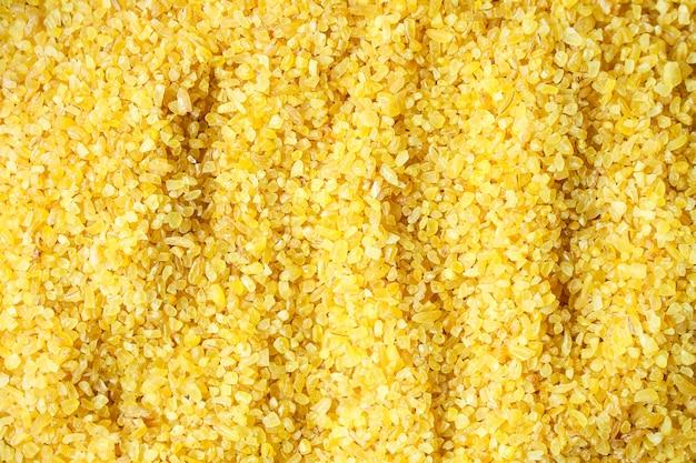 Булгур молотый зерновой сырой