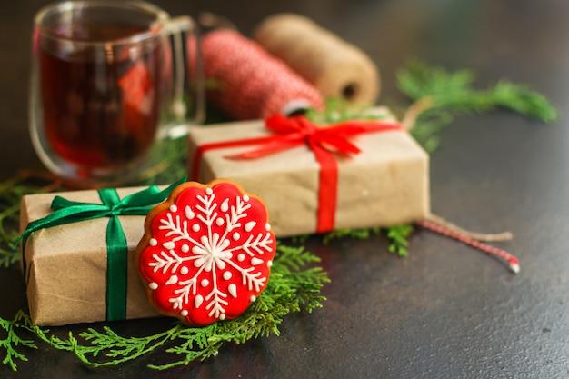 ジンジャーブレッド。贈り物と休日