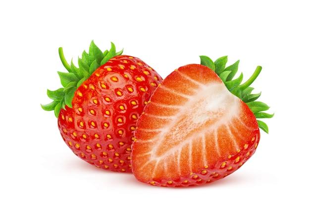 分離されたイチゴ