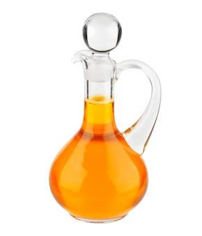 植物油ガラスびん白で分離